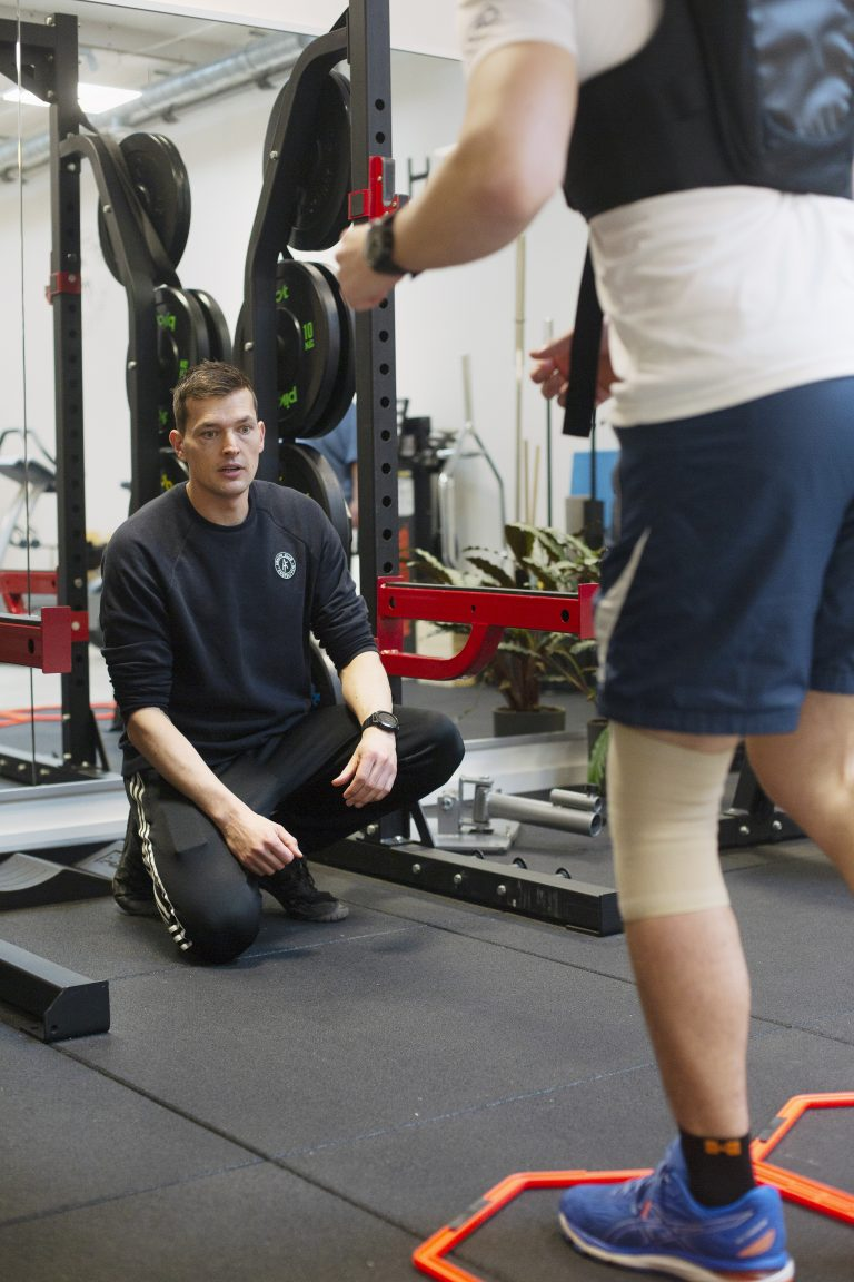 Training bij AmstelFysio Health Club